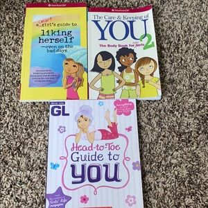 Girls Development Book Set of 3